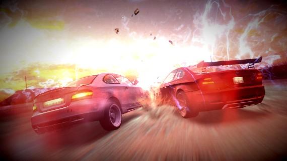 Primeras imágenes de Blur: volverán las carreras a ser entretenidas.
