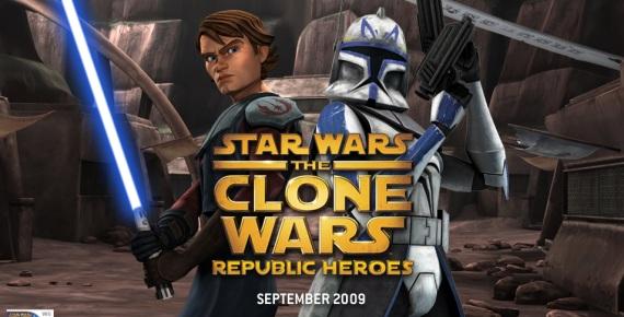 Nuevo juego Star Wars The Clone Wars: Republic Heroes