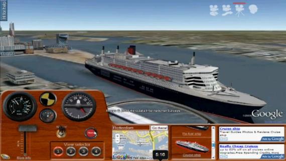 Ships: simulador de barcos para Google Earth