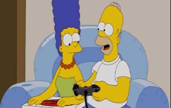 Los Simpsons se unen a la práctica del Teabagging en Halo [Videos]