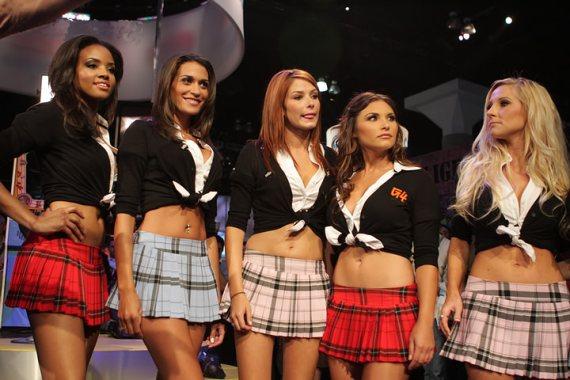 Todas las Booth Babes de la E3 - 2009!!