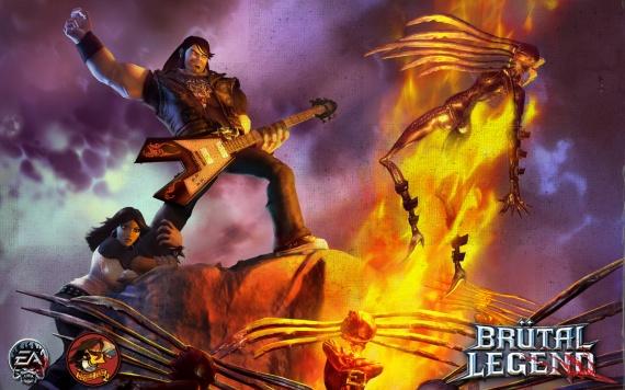 Nuevas screenshots de Brutal Legend [Imágenes]