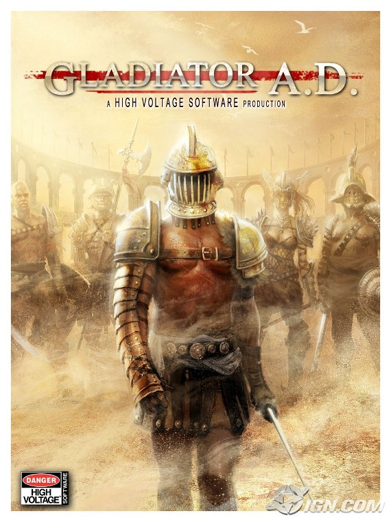 Otro gameplay de Gladiator A.D.