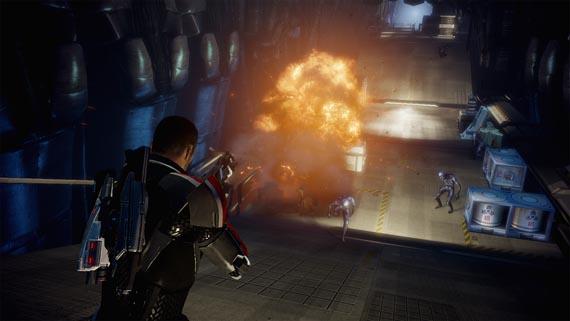 Las primeras screenshots ingame de Mass Effect 2 se ven de lujo!