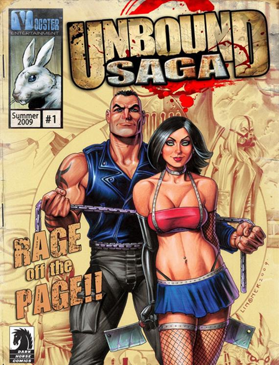 Unbound Saga, Comics con vida a la PSP [video]