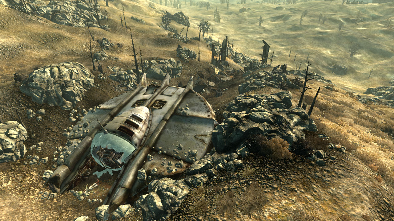 Mothership Zeta, DLC de Fallout 3, con fecha y fotos [Screenshots]