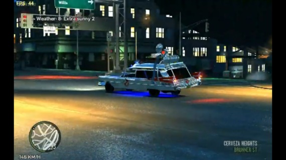 Modelo del Ecto-1 para Grand Theft Auto IV [Fan Made]