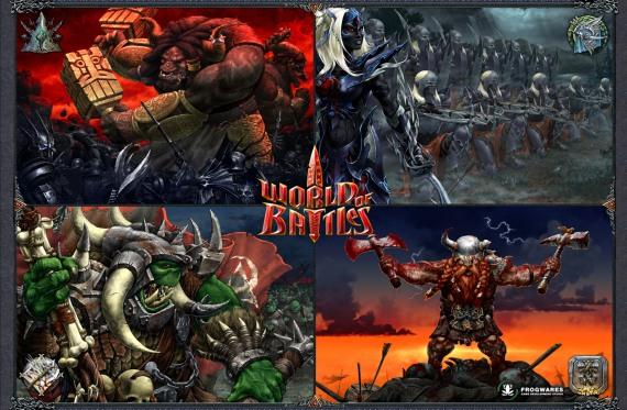 World of Battles: Construye tu ejército y derrota a tus enemigos gratis [Free2Play - RTS -Trailer]