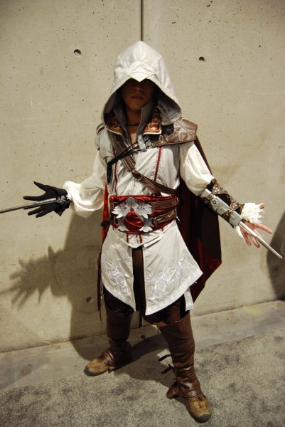 Ezio de Assassin's Creed 2 ... pero MAL