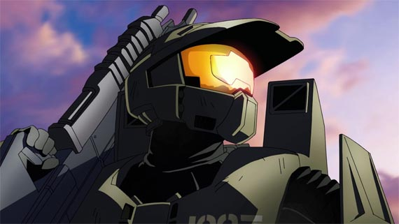 Esto es Halo Anime [#Comic-Con] [Screenshots]