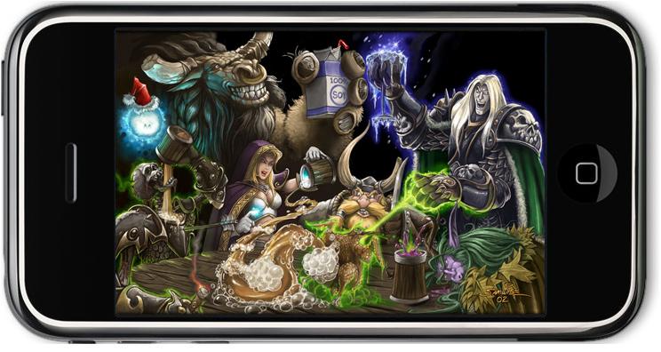 Atención WoWeros: WoW en tu Iphone