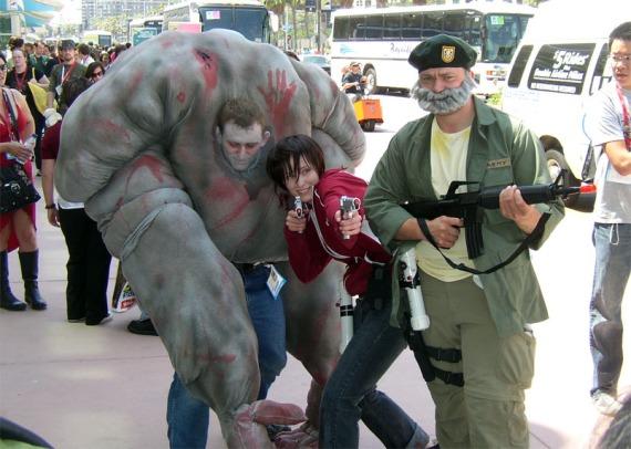 El mejor Cosplay de la Comic-Con [Left4Dead] [#Comic-Con]