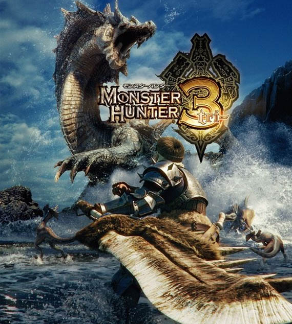 Monster Hunter 3 se convertirá en un pseudo-mmo [#Comic-Con]
