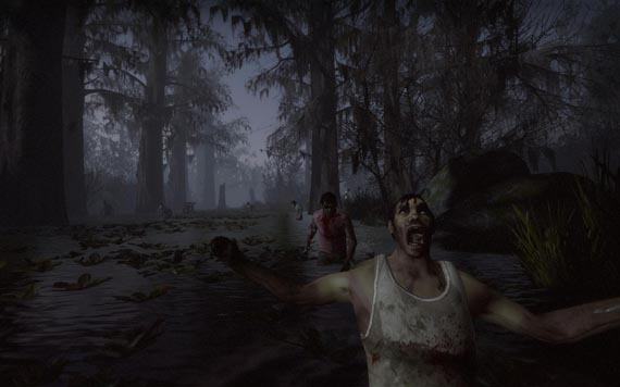 Aquí llegan los primeros videos de Left 4 Dead 2 en Swamp Fever [#Comic-Con] [Gameplay]