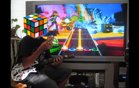 Guitar Hero World Tour:Rubik's Cube Edition