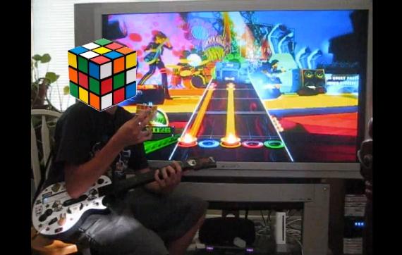 Guitar Hero World Tour:Rubik's Cube Edition