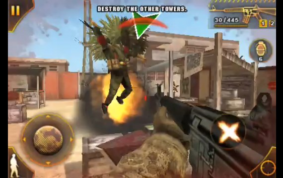 Modern Combat: Sandstorm [iPhone - FPS]