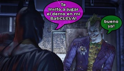 Descarga el bati-demo de Batman: Arkham Asylum para PC [Demos]