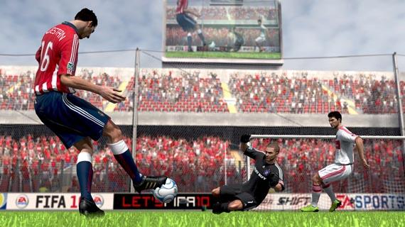 Nuevas screenshots de FIFA 10 ... y no se ve tan bien como esperábamos [Screenshots]