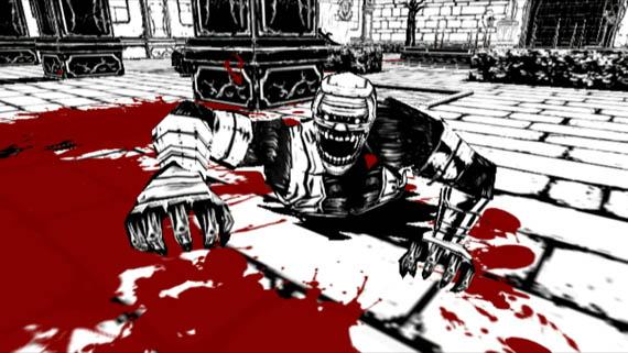 La mutilación censurada de MadWorld; sangre por barril en la Wii [video]
