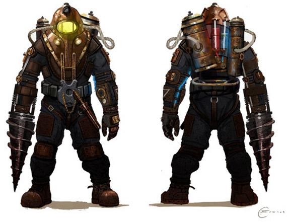 Así será el papito grande de BioShock 2