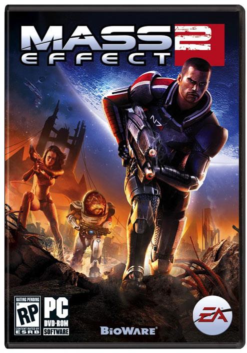 Portada Mass Effect 2