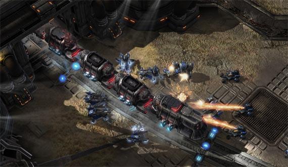 Nuevas screens de Starcraft 2 ¿mapas de pago? ¿mods de pago? [Detalles Truculentos]