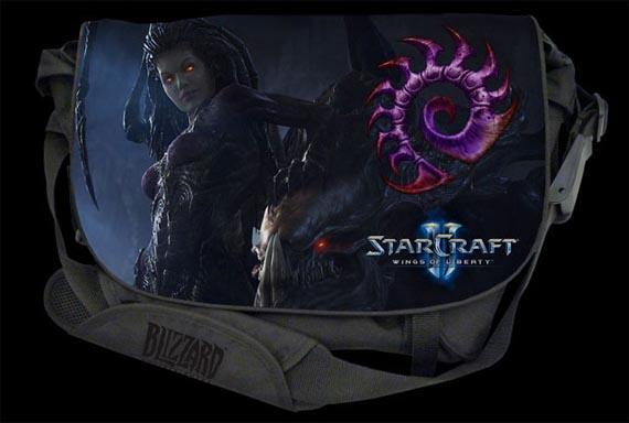 Pasen por aquí para ver los cool-es bolsos de Starcraft 2 [Periféricos]