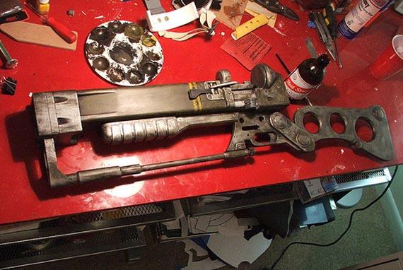 Así es como se fabrica tu propio Rifle Laser de Fallout 3 [Fan Made]