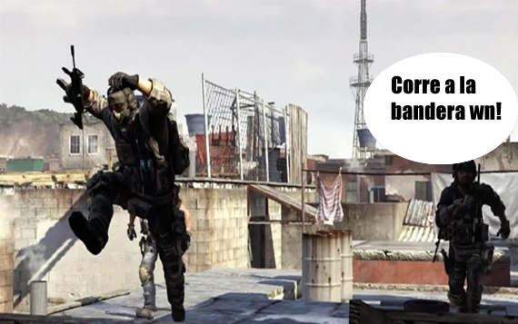 Modern Warfare 2: con Bandera y cuchillos voladores! [Video]