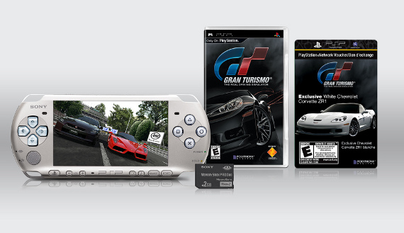 Los chiches de Gran Turismo PSP Limited Edition