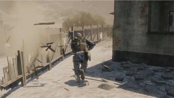 Battlefield: Bad Company 2 presenta su mapa del Desierto de Atacama [Video TGS 2009]