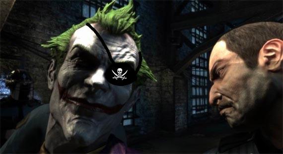 Los Piratas lo hacen de nuevo: Batman Arkham Asylum pirateado y crackeado listo para descarga via torrent [Fail!]
