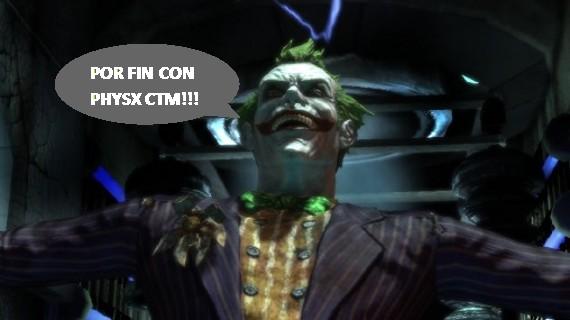 Batman: Arkham Asylum con y sin PhysX [imagenes comparativas + video] – [ACTUALIZADO!!]