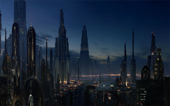A pasear por Coruscant en Star Wars The Old Republic [Video]