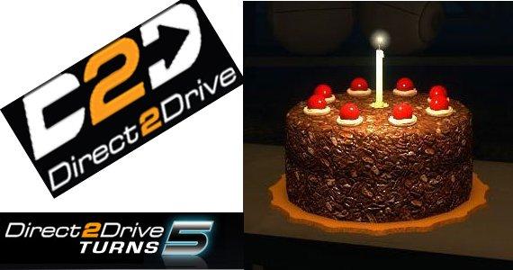 Direct2Drive cumple 5 años y los regalos son para nosotros [Semana 1]