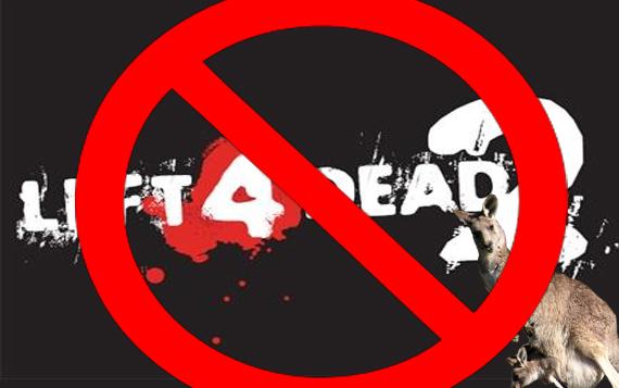 Left 4 Dead 2 Prohibido en Australia