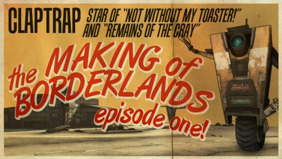 El Making of de Borderland con Claptrap - 1ra parte [Trailer]