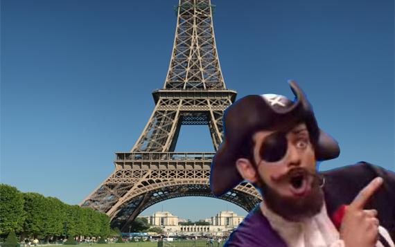 Uh la lá! Piratas de Francia podrían ser baneados hasta por un año de Internet