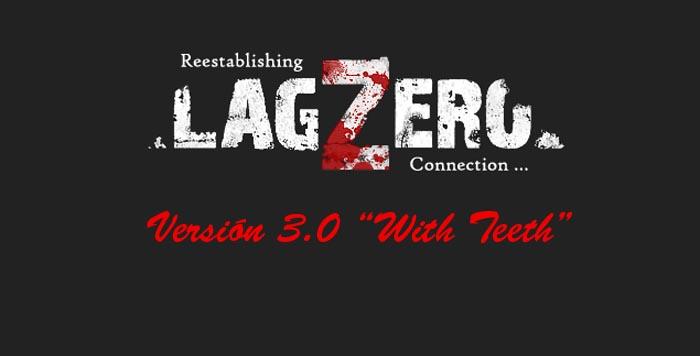 Lanzamiento del nuevo diseño de LagZero.NET v3 BETA [Chan!]