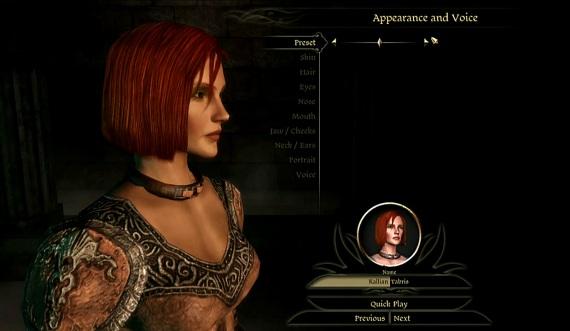 Creador de personajes de Dragon Age: Origins disponible y DLC listo para el estreno [DLC y Estreno Juntos?]