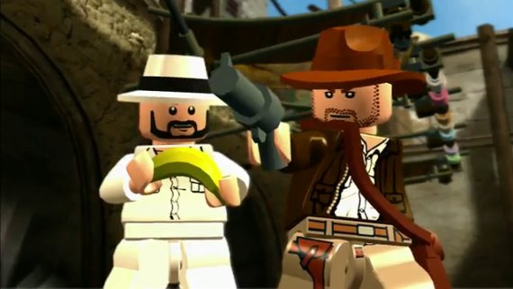 Lego Indiana Jones 2 Trailer