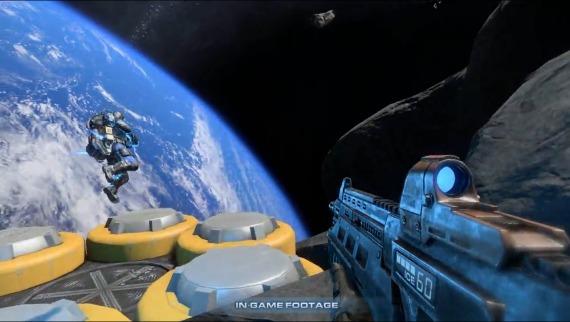 Shattered Horizon, Juega en Gravedad Cero [Teaser – Gameplay]
