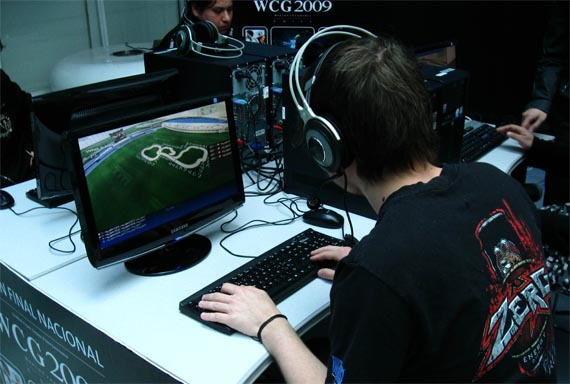 Esto fue la World Cyber Games en Santiago, Chile 2009