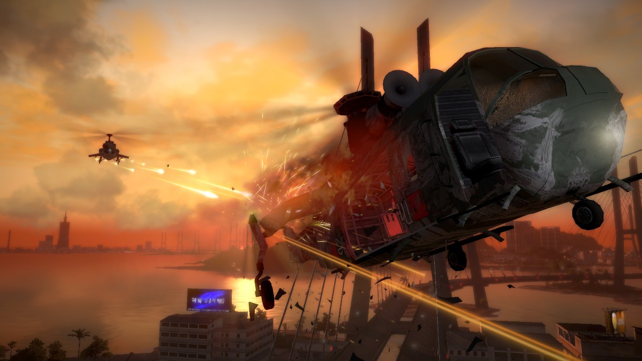 Square Enix anuncia la fecha de Just Cause 2 [Secuelas]
