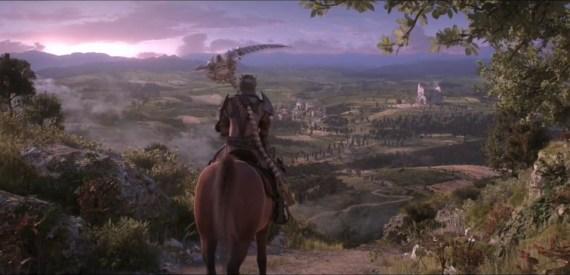 La historia de Dante's Inferno y trailer de la película animada.