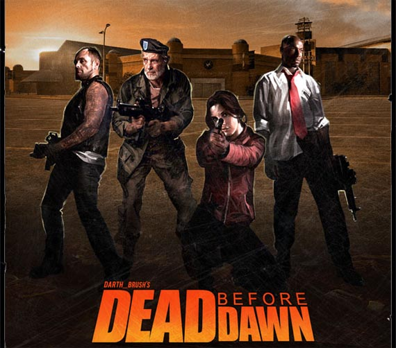 Dead Before Dawn aparece en la noche de Halloween [Left 4 Dead Hyper Mod]