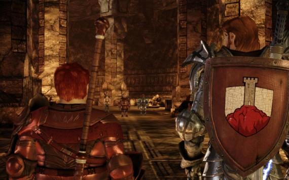 En el equivalente a Las Minas de Moria (LotR) en Dragon Age: La ciudad subterránea de Orzammar
