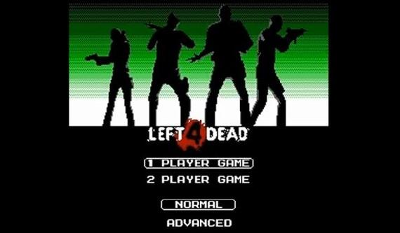Left 4 Dead versión NES 8 bits [Nintendo]