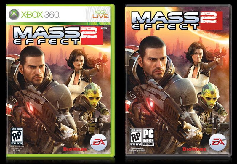 Esta es el arte de portada para Mass Effect 2 [Foto]